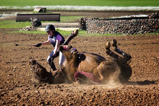 Camelot Horse Trials -- but mostly tribulations!
